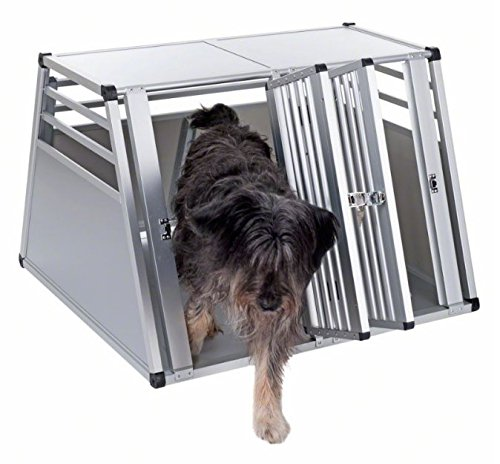 Aluline Robust and Lightweight Double Dog Crate - Safe and Comfortable Way to Transport Larger Dogs when Travelling by… 7