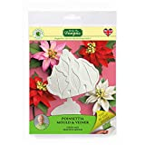 Poinsettia Silicone Sugarpaste Icing Mould and