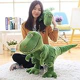 jieGREAT Süßes Anime Stofftier  Bed Time Stuffed Animal Toys Niedliche weiche Plüsch T-Rex Tyrannosaurus Dinosaurier Figur,Die besten Weihnachts- und Geburtstagsgeschenke für Kinder (A)