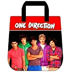 ONE DIRECTION 1D MEDIUM SHOULDER HAND BAG SCHOOL COLLEGE UNI GYM TOTE GIFT 43350