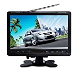Worldtech Stand TV and Monitor 7-inch with USB/Memory Card/Parking Camera Input