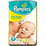 Pampers New Baby Taille 2 Mini 3-6kg (56) - Paquet de 6