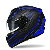 Doppel-objektiv Öffnen sie gesicht helm, Motorradhelm Off-road racing helm Cool-G L