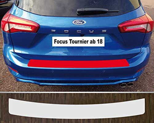 is-tuning passgenau für Ford Focus Tournier ab 2018 Lackschutzfolie Ladekantenschutz transparent