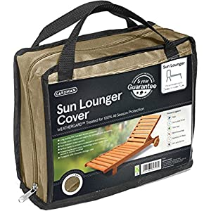 Gardman Premium Sun Longer Sunbed Cover Beige – 35896