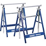 Advanced Draper XS68852 Pair Of Telescopic Saw Horses Or Builders Trestles [Pack of 1] --