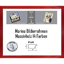 Marina Echtholz Bilderrahmen 85 X 120 Cm Massivholz Schlicht Elegant 120x85 Antireflex Acrylglas In 14
