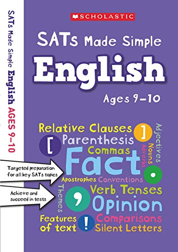Year 5 English Targeted Practice and Revision Workbook for all key SATs topics  (with answers) (SATs Made Simple)