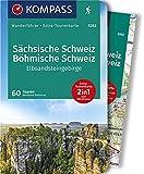 Sächsische Schweiz, Böhmische Schweiz, Elbsandsteingebirge: Wanderführer mit Extra-Tourenkarte, 70 Touren, GPX-Daten zum Download (KOMPASS-Wanderführer, Band 5262) -