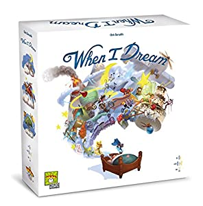 Asmodee Italia-When I Dream, edición Italiana, 8415