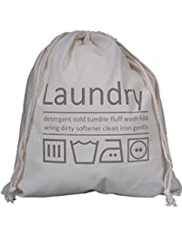 Viajar lavandería Organizador de bolso de Algodón (TRAVEL SIZE) (TAMANO DE VIAJE)35 x40cm