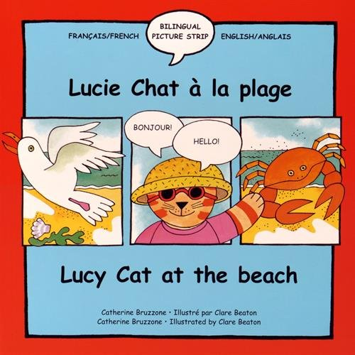 Lucie Chat a la Plage : Lucy Cat at the Beach par Catherine Bruzzone