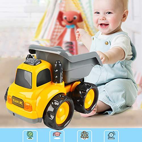 Plüsch Bildung Squishy Spielzeug aufblasbares Spielzeug im Freien Spielzeug,Baby-Kleinkinder drücken und gehen Friction Powered Car Toys für Jungen Mädchen ab 18 Monaten ()