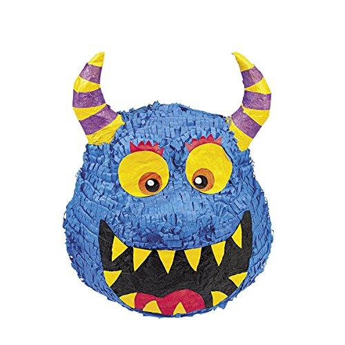 ues Monster mit Hörnern für Kindergeburtstag Palandi® ()