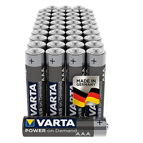 VARTA Power On Demand - Pilas alcalinas AAA / LR03 /...