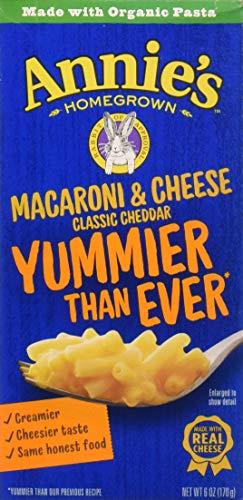Annie's Homegrown Classic Macaroni & Cheese 6 Oz Box