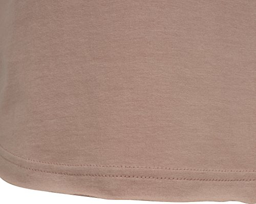 Urban Classics Herren T-Shirt Open Edge Sleeveless Tee Rosa (Light Rose 00838)