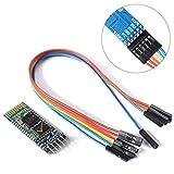 SODIAL Wireless Seriell 6Pin Bluetooth Transceiver-Modul HC-05 Master Slave + Kabel