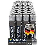 VARTA Power on Demand AAA Micro Batterien (40er Pack geeignet  für Computerzubehör, Smart Home Geräten oder Taschenlampen)