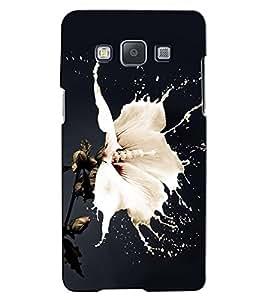 Citydreamz White Flower/Splash/Nature Hard Polycarbonate Designer Back Case Cover For Samsung Galaxy On5