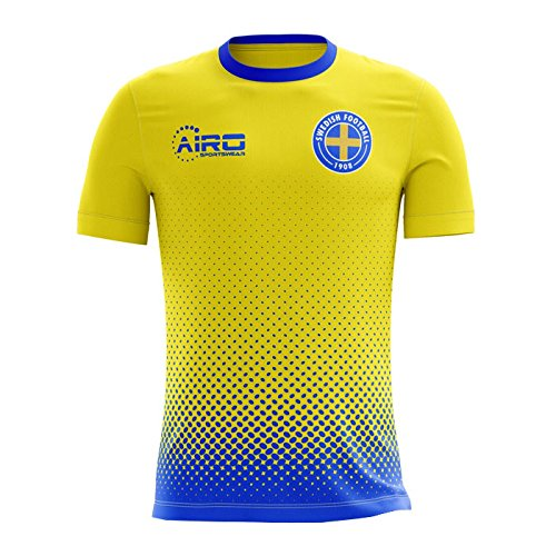 Airo Sportswear 2018 2019 Sweden Home Concept Football Shirt