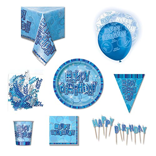 kit anniversaire bleu –  Happy Birthday 511X yncCsL