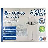 Aqua Crest AQK-06 Compatible filtre Brita classique Jug (6)