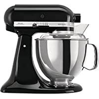 KitchenAid 5 ksm175ps EOB Robot de cocina 5 ksm175 4,8 L Artisan Onyx, acero inoxidable, color negro