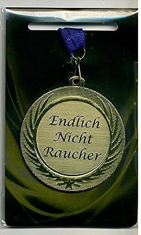 'Élégant Médaille/Prix avec gravure laser Plaque et bleu cordon tour de cou