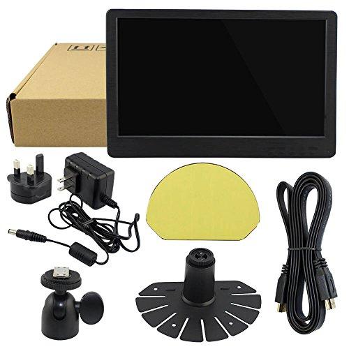 IPS HD Monitor tv screen indicate for Raspberry Pi 2B B Raspberry Pi 3B Windows 7 8 10 12 Inch 1920X1080 HDMI DVI D VGA PS3 PS4 WiiU Xbox360 1080P from Elecrow Monitors