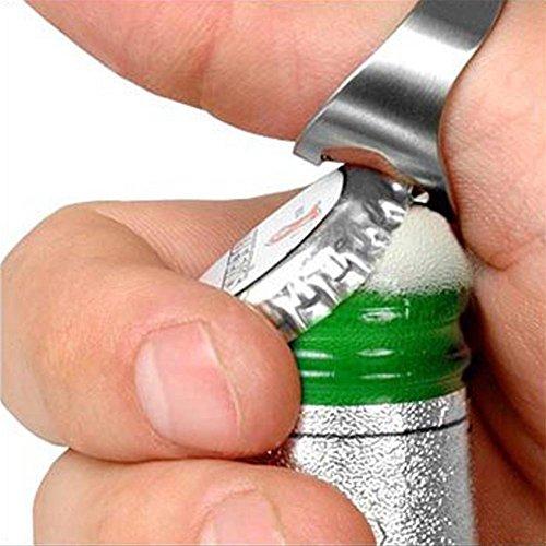 Sungpunet Anillo Abridor botellas pequeñas acero