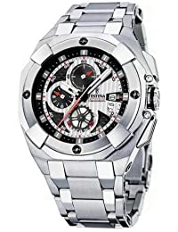16ff02db8cd Festina - F16351 3 - Montre Homme - Quartz - Chronographe - Bracelet Acier  Inoxydable