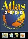 Atlas 2000. La France et le Monde par Lacoste