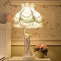 DELICATO T Resina Tessuto Art Studio Camera da letto Soggiorno regalo di nozze decorativo comodino Amore E27 Desk Table Lamp Lamp
