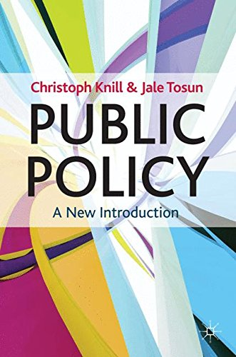 Public Policy: A New Introduction (Textbooks in Policy Studies) por Christoph Knill