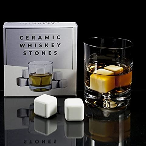 Pcs ceramica Whisky Pietre Ice Cube ghiacciai Whisky Chillen Rocks - Ice Stone
