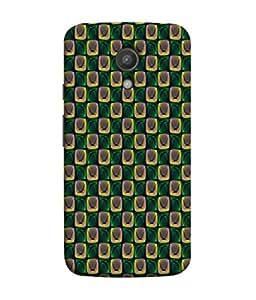 PrintVisa Designer Back Case Cover for Motorola Moto G2 :: Motorola Moto G (2nd Gen) (Wallpaper Modern Art Box Square Texture )