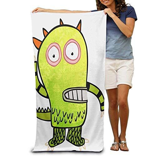 xcvgcxcvasda Badetuch, Soft, Quick Dry, Personalized Halloween Pop Art Cartoon Large Beach Towel Pool Towel,Swim Towels for Bathroom,Gym,and Pool 31 in X51 in
