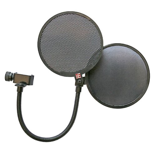 SE ELECTRONICS DUAL PRO POP SCREEN/MICROPHONE POP SHIELD