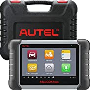 Autel Scanner MaxiCOM MK808, 2021 Newest OBD2 Car Diagnostic Scanner, Equipped with 25+ Maintenance Functions,