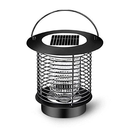 AMZH Solar Mosquito asesino lámpara hogar sin radiación interior Mosquito asesino electrónico exterior Led insecto asesino lámpara , b