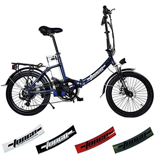 TOOCO ALU Elektrofahrrad FROUME 20″ E-Bike Klapprad Faltrad Elektro Fahrrad 20 Zoll E Bike