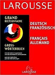 Grand dictionnaire : Allemand/français, français/allemand