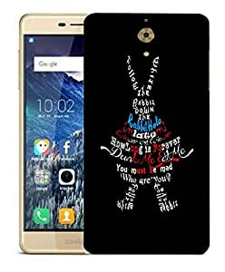 Snoogg Dunk Me Eat Me Designer Protective Back Case Cover For COOLPAD MEGA 2.5 D