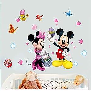 Wandtattoo Kinderzimmer Minnie Mouse Gunstig Online Kaufen