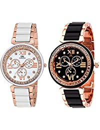 IIk Collection Watches Combo of Analogue Multicolour Dial Watches for Women