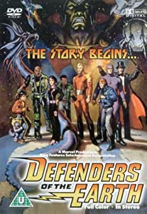 Defenders of the Earth - the Story Begins... [DVD]