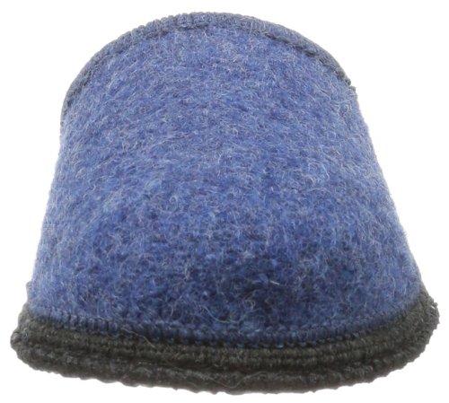 Beck Home 761 Unisex-Erwachsene Hausschuhe Blau (Blau)