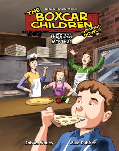 The Pizza Mystery 11 (The Boxcar Children Graphic Novels Set 2)