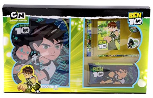 Image of Ben 10 Backpack and Stationery Set